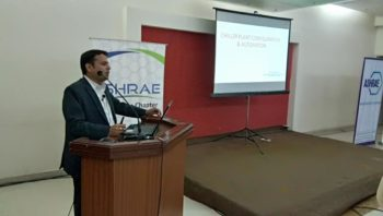 Technical talk on Chiller Plant Automation and Controls by Mr.Sunil Kumar
