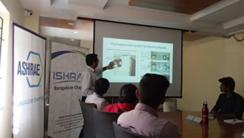 Technical talk on Fire Suppression System for Electrical Panels by Mr.Mukundan