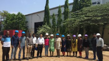 W@I Factory Visit to Armstrong Fluid Technology-Bangalore by Mr.Nagabushan