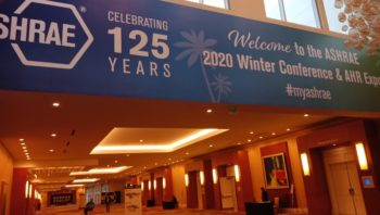 AHR expo in Orlando from Feb 3rd to 5th, 2020